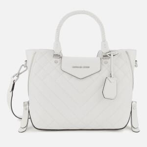 MICHAEL MICHAEL KORS Women's Blakely Medium Messenger Bag - Optic White