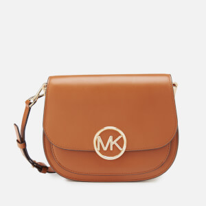 MICHAEL MICHAEL KORS Women's Lillie Medium Saddle Messenger Bag - Acorn