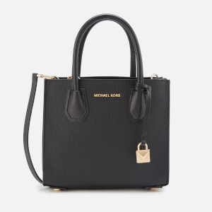 MICHAEL MICHAEL KORS Women's Mercer Medium Acrdion Messenger Bag - Black