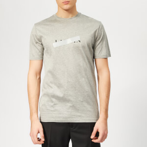 Lanvin Men's Lanvin Barre Print T-Shirt - Grey