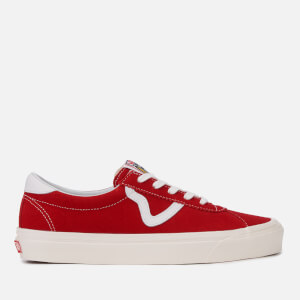 Vans Men's Anaheim Style 73 DX Trainers - OG Red/Suede