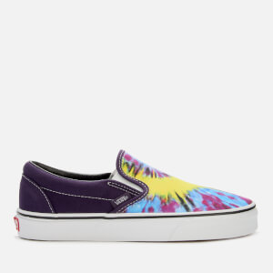 39b6a28afa8 Vans Tie Dye Classic Slip-On Trainers - Mysterioso True White