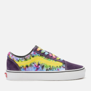 af1e37d06c6a Vans Tie Dye Old Skool Trainers - Mysterioso True White