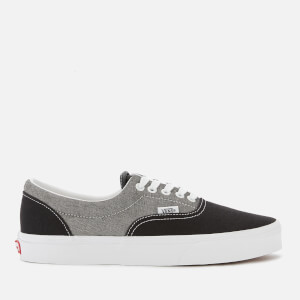 Vans Men's Chambray Era Trainers - Canvas Black/True White