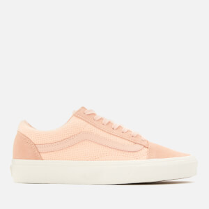 Vans Women's Woven Check Old Skool Trainers - Spanish Villa/Snow White