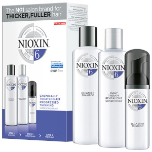 Nioxin 3-part System Loyalty Kit 6 for Chemically Treated Hair with Progressed Thinning
