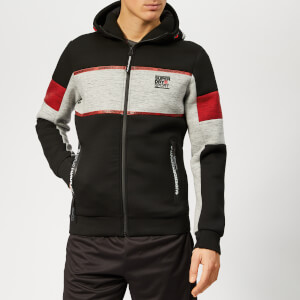 Superdry Sport Men's Gym Tech Stretch Block Zip Hoody - Black
