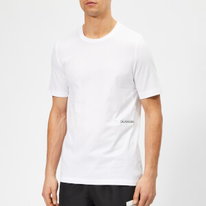 Calvin Klein Men's Twin Pack T-Shirt - White