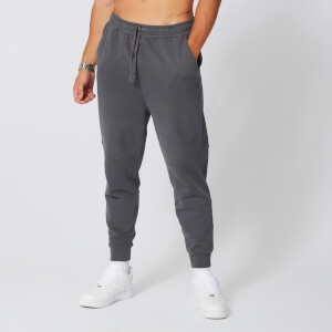 Acid Wash Joggers - Carbon