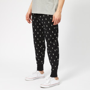 Polo Ralph Lauren Men's All Over Pony Joggers - Polo Black/Nevis