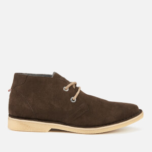 Superdry Men's Rallie Desert Boots - Light Brown/Natural