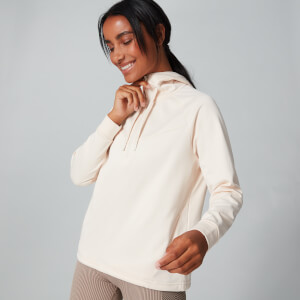 Tech Pull Over Hoodie - Moonbeam