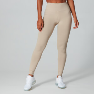 Power Mesh Leggings - Ruskea