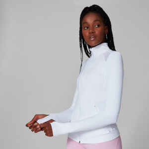 Chaqueta Power Mesh - Blanco
