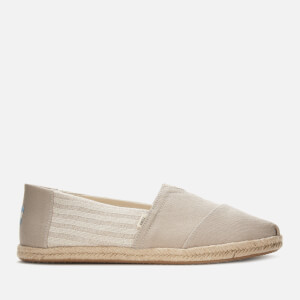 TOMS Men's Alpargata Vegan University Slip-On Pumps - Oxford Tan