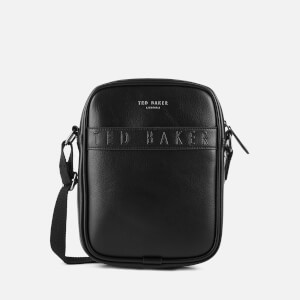Ted Baker Men's Flyer Debossed Flight Bag - Black