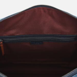 Ted Baker Men's Mackers Nubuck Holdall Bag - Navy: Image 5