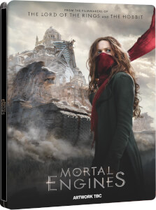 Mortal Engines - 4K Ultra HD Online Exclusive Steelbook (Includes Blu-ray + Digital Download)