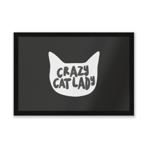 Crazy Cat Lady Entrance Mat