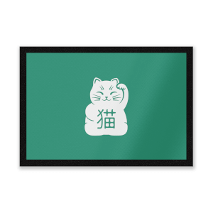Lucky Cat Entrance Mat