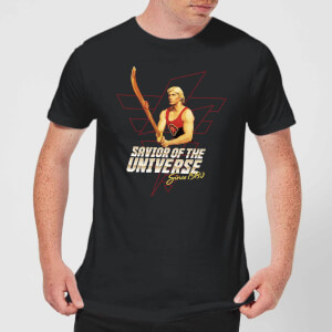 Camiseta Flash Gordon Savior Of The Universe Since 1980 - Hombre - Negro