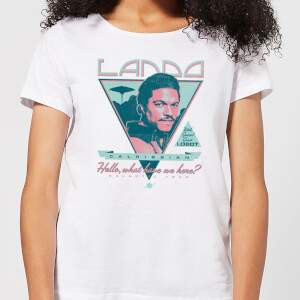 Star Wars Lando Rock Poster Damen T-Shirt - Weiß