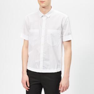 Neil Barrett Men's Double Chest Pocket Shirt - White