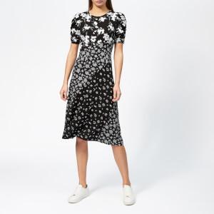 MICHAEL MICHAEL KORS Women's Elevated Seaming Combo Dress - Black/White