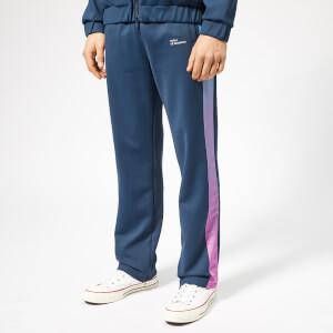 Drôle de Monsieur Men's Shaded Stripe Track Pants - Navy