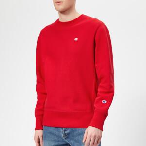 Champion Men's Crew Neck Sweatshirt - Red
