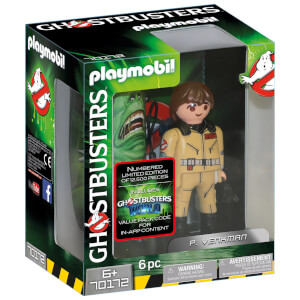 Playmobil Ghostbusters Collector's Edition P. Venkman - Limited and individually numbered (70172)