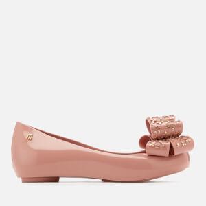 649bea77b81d Melissa Women s Ultragirl Luxe Bow Ballet Flats - Blush