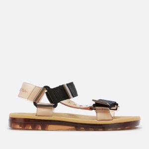 Melissa X Rider Women's Papete Sandals - Tan