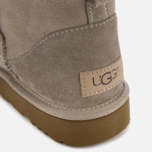 UGG Women's Classic Mini II Sheepskin Boots - Oyster: Image 4