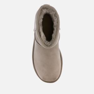 UGG Women's Classic Mini II Sheepskin Boots - Oyster: Image 3