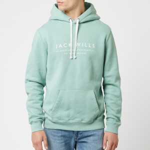 Jack Wills Men's Batsford Wills Hoodie - Mint