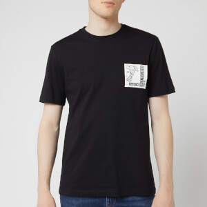 Versace Collection Men's Chest Patch T-Shirt - Black