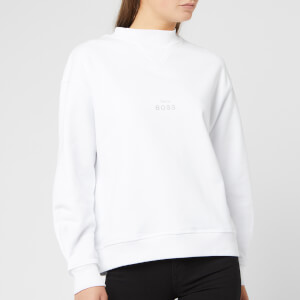 BOSS Women's Tacrush Sweatshirt - White