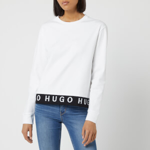 HUGO Women's Nicci Sweatshirt - White
