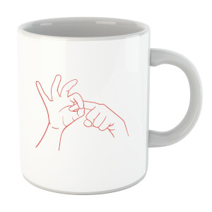 Sexy Hand Gesture Mug