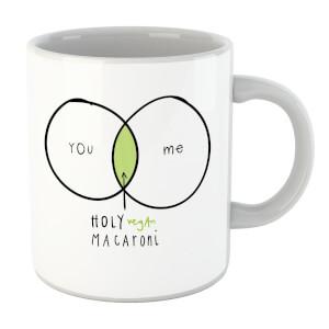 Holy Vegan Macaroni Mug