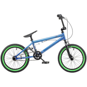"Rooster Core 16"" Blue BMX Style Bike"