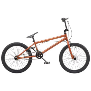 "Rooster Core 20"" Copper Matt BMX Style Bike"