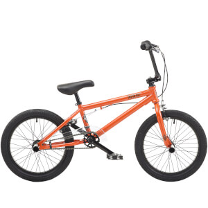 "Hardcore Metallic Orange 18"" WHL BMX Style Bike"