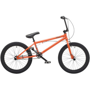 "Hardcore Metallic Orange 20"" WHL BMX Style Bike"