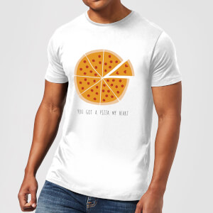 You Got A Pizza My Heart Men's T-Shirt - White