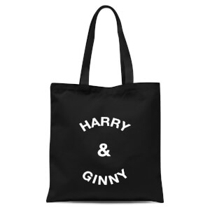 Harry & Ginny Tote Bag - Black