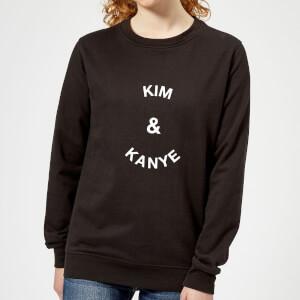 Kim & Kanye Women's Sweatshirt - Black