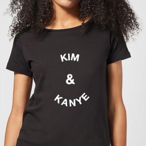 Kim & Kanye Women's T-Shirt - Black