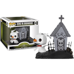 Disney The Nightmare Before Christmas Zero in Dog House EXC Pop! Movie Moment